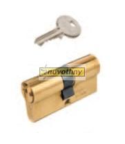 ISEO F5 hengerzárbetét 30/30, réz, 6-kulcsos