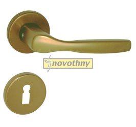 CHRISTIE alu eloxált F4 rozettás kilincsgarnitúra (bronzszínű)