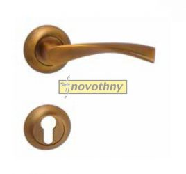 GALAXY-surolt-bronz-rozettas-kilincsgarnitura